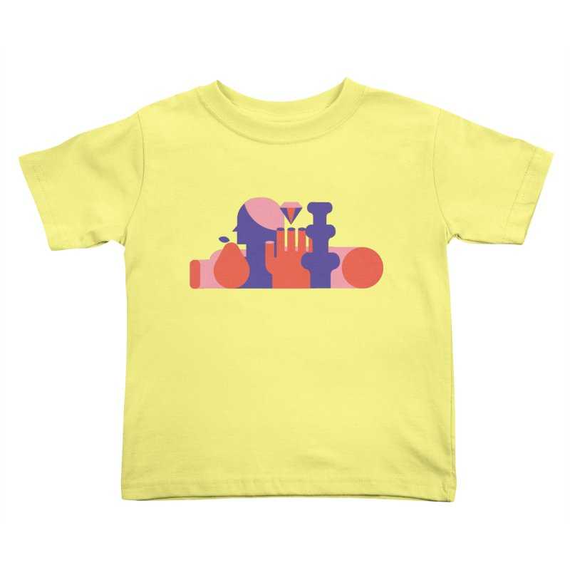 Still Life Kids Toddler T-Shirt by stereoplastika's Artist Shop
