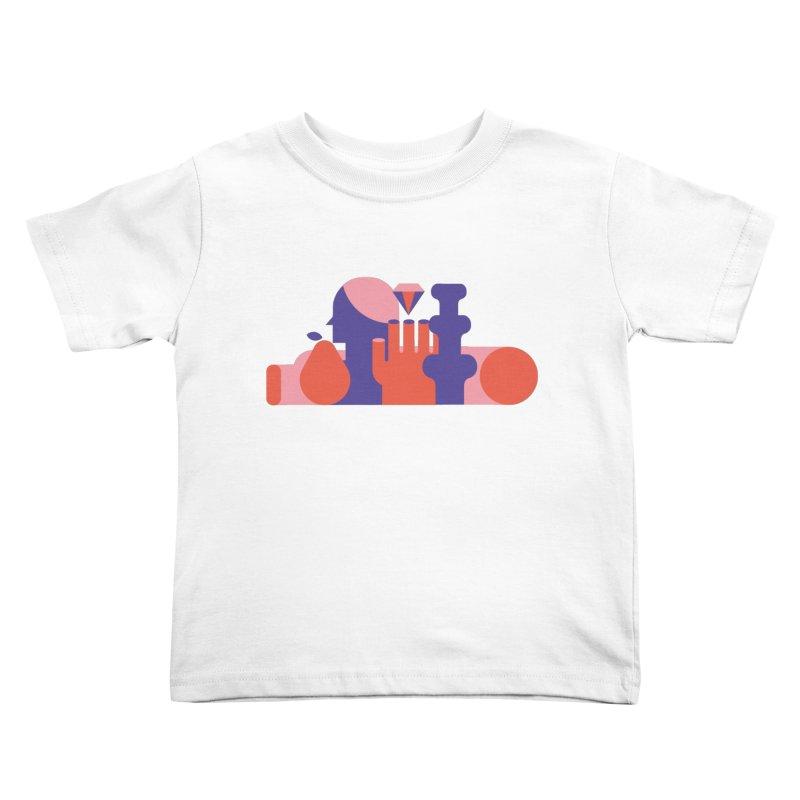 Still Life Kids Toddler T-Shirt by stereoplastika's Artist Shop