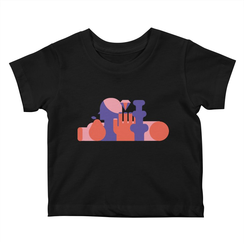 Still Life Kids Baby T-Shirt by stereoplastika's Artist Shop