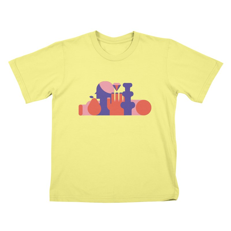 Still Life Kids T-shirt by stereoplastika's Artist Shop