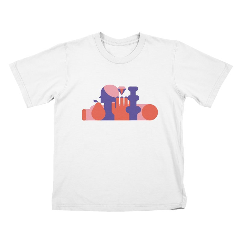 Still Life Kids T-Shirt by stereoplastika's Artist Shop