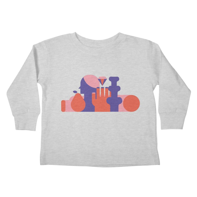 Still Life Kids Toddler Longsleeve T-Shirt by stereoplastika's Artist Shop