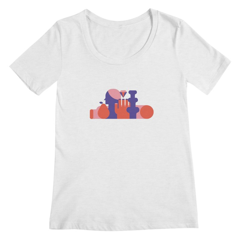 Still Life Women's Regular Scoop Neck by stereoplastika's Artist Shop