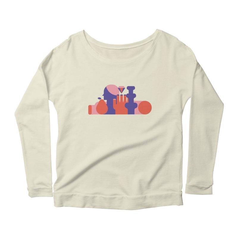 Still Life Women's Scoop Neck Longsleeve T-Shirt by stereoplastika's Artist Shop