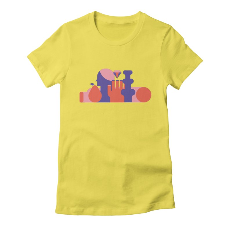 Still Life Women's Fitted T-Shirt by stereoplastika's Artist Shop