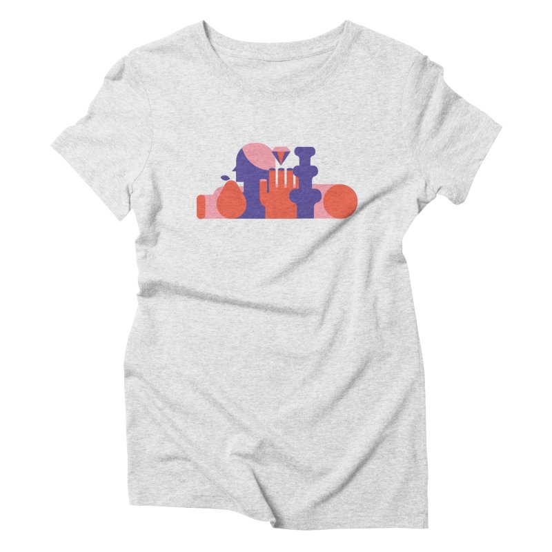 Still Life Women's Triblend T-Shirt by stereoplastika's Artist Shop