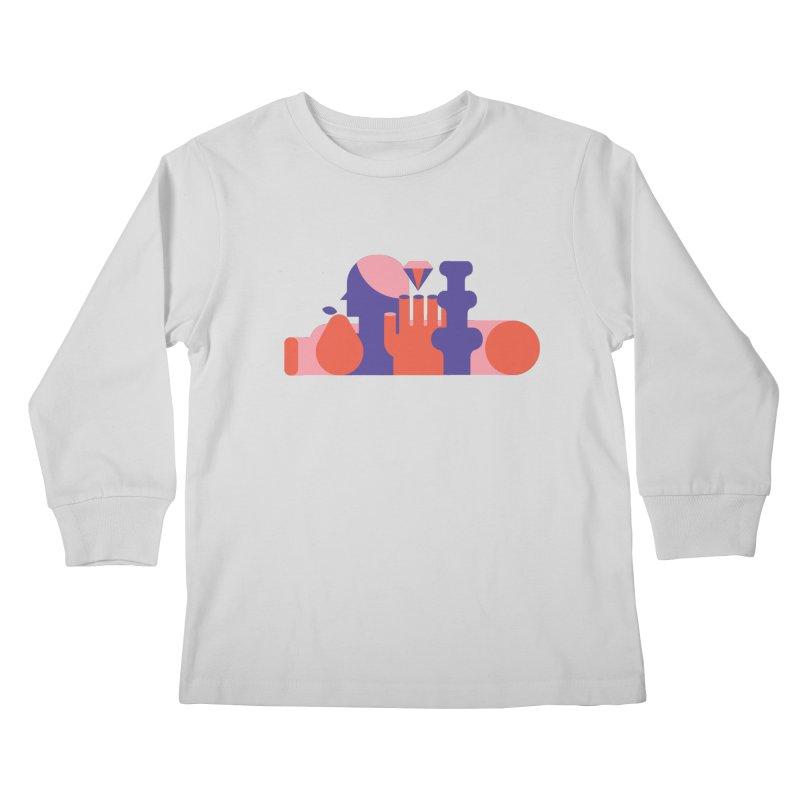 Still Life Kids Longsleeve T-Shirt by stereoplastika's Artist Shop