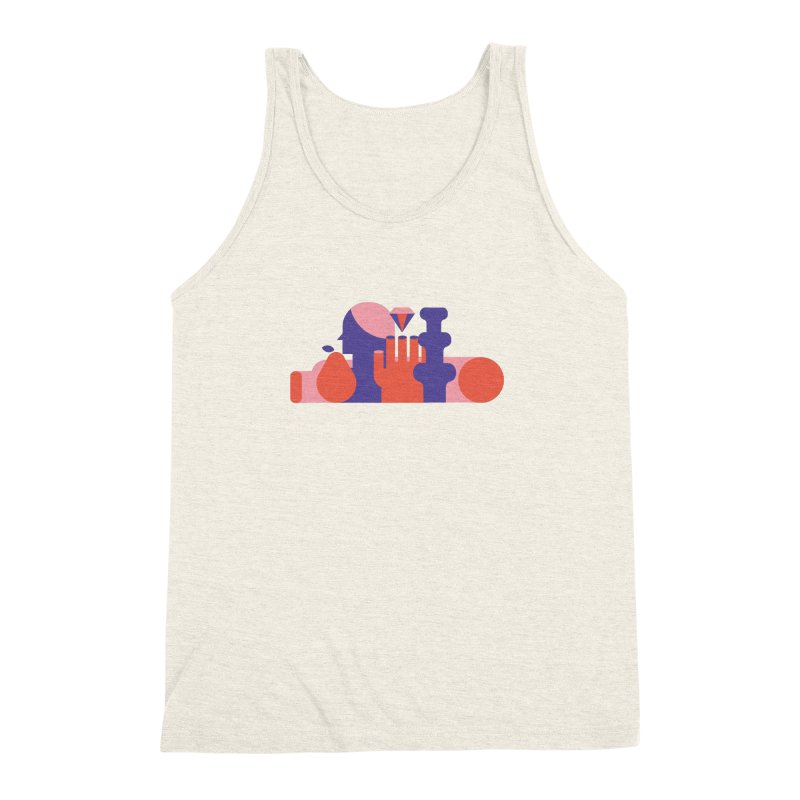 Still Life Men's Triblend Tank by stereoplastika's Artist Shop