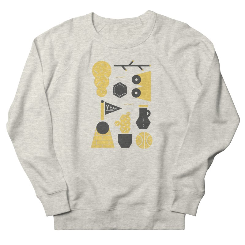 Yeah! Men's French Terry Sweatshirt by stereoplastika's Artist Shop