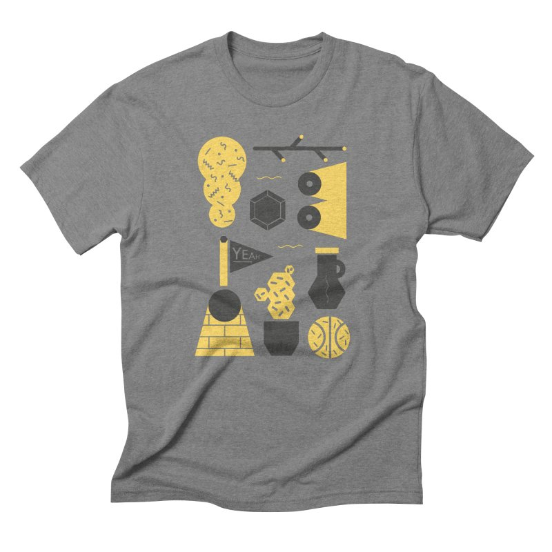Yeah! Men's Triblend T-shirt by stereoplastika's Artist Shop