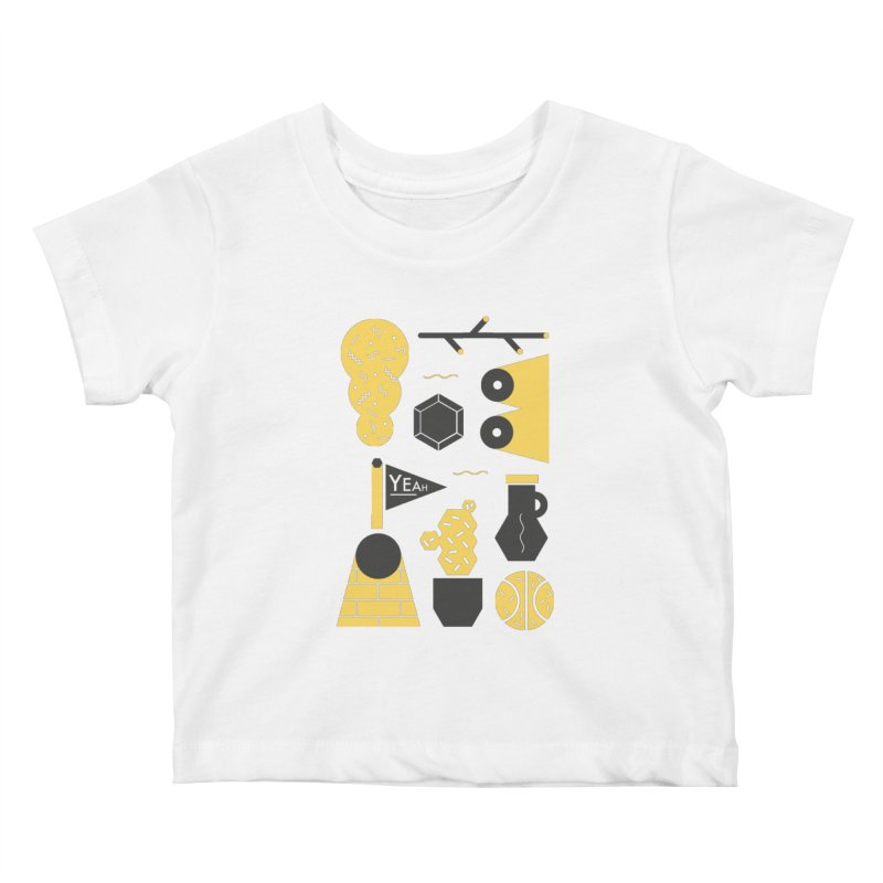 Yeah! Kids Baby T-Shirt by stereoplastika's Artist Shop