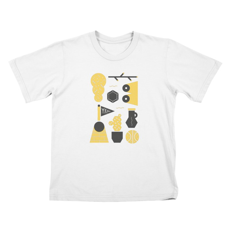 Yeah! Kids Toddler T-Shirt by stereoplastika's Artist Shop