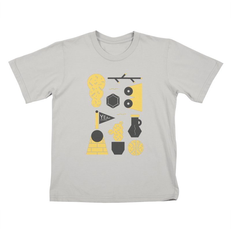 Yeah! Kids T-Shirt by stereoplastika's Artist Shop