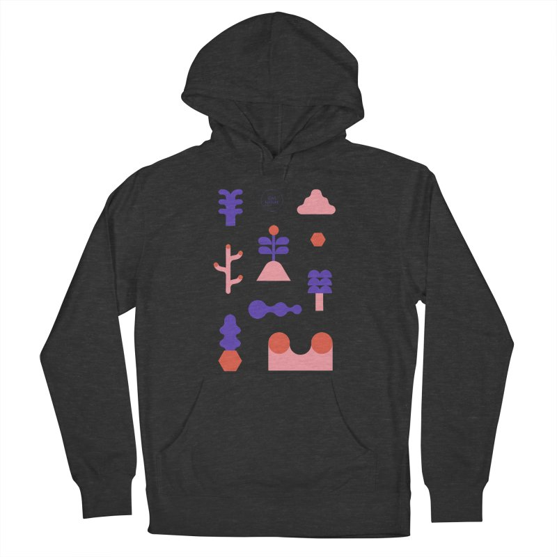 Love nature Men's French Terry Pullover Hoody by stereoplastika's Artist Shop