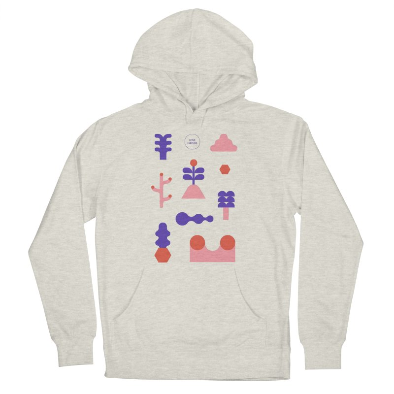 Love nature Men's Pullover Hoody by stereoplastika's Artist Shop