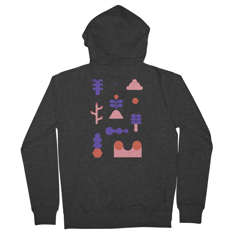 Love nature Women's French Terry Zip-Up Hoody by stereoplastika's Artist Shop