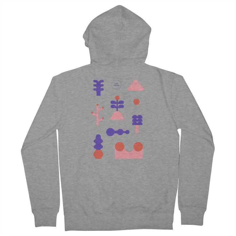 Love nature Women's Zip-Up Hoody by stereoplastika's Artist Shop