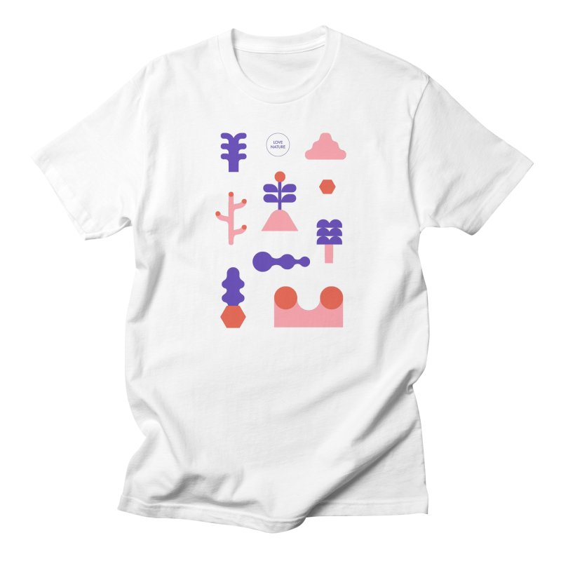 Love nature Men's Regular T-Shirt by stereoplastika's Artist Shop