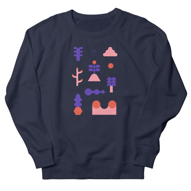 Love nature Women's French Terry Sweatshirt by stereoplastika's Artist Shop