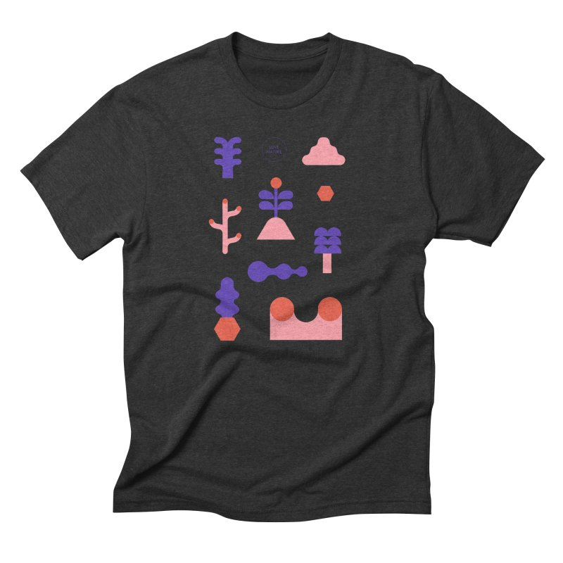 Love nature Men's Triblend T-Shirt by stereoplastika's Artist Shop
