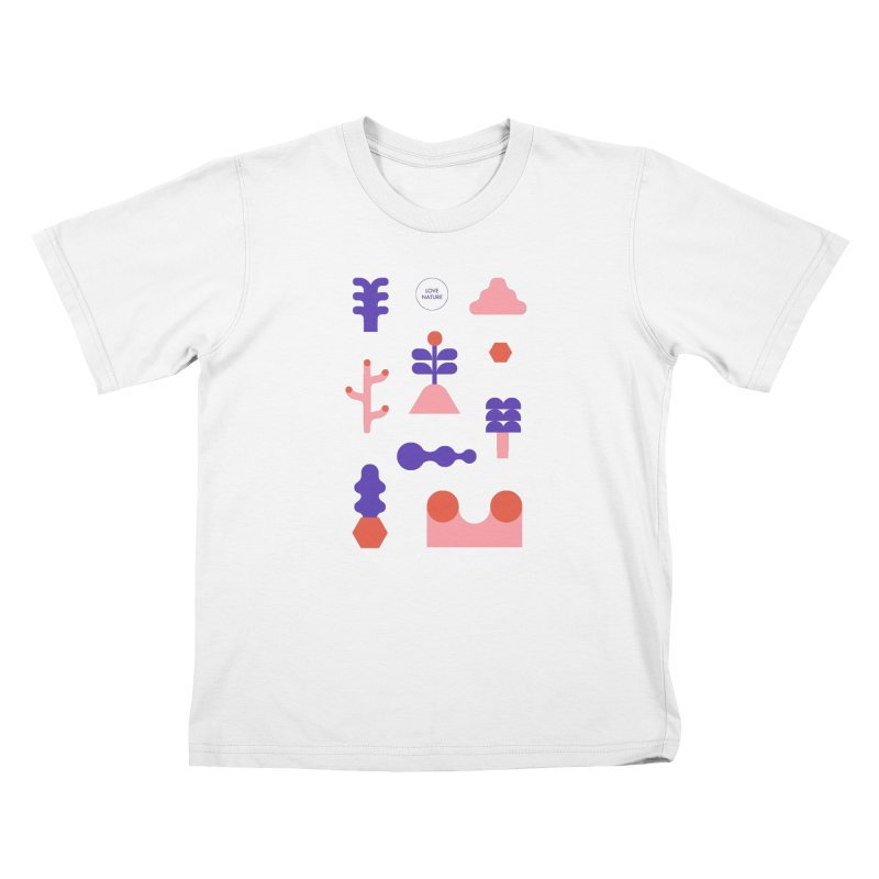 Love nature Kids Toddler T-Shirt by stereoplastika's Artist Shop
