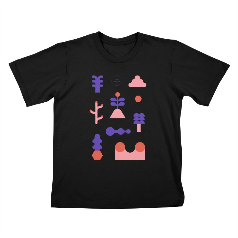 Love nature Kids T-shirt by stereoplastika's Artist Shop
