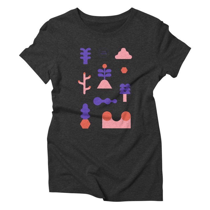 Love nature Women's Triblend T-Shirt by stereoplastika's Artist Shop