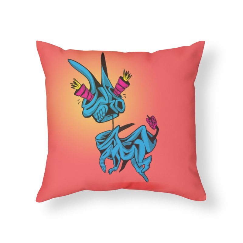 Krot of D' Home Throw Pillow by Stescoe Phantom's Melting Shop