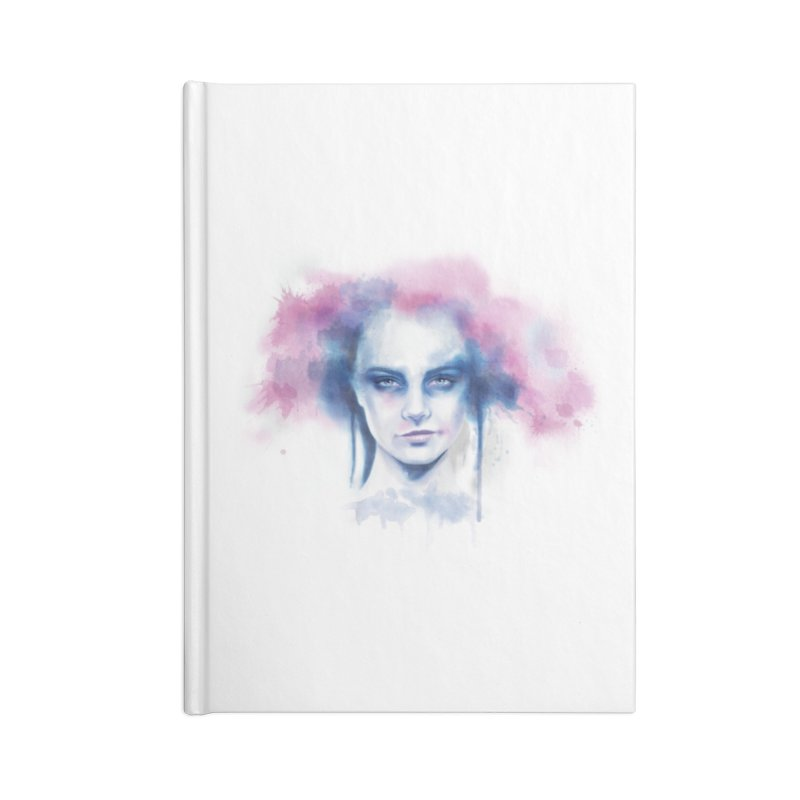 Bad Hair Day Accessories Blank Journal Notebook by steveash's Artist Shop