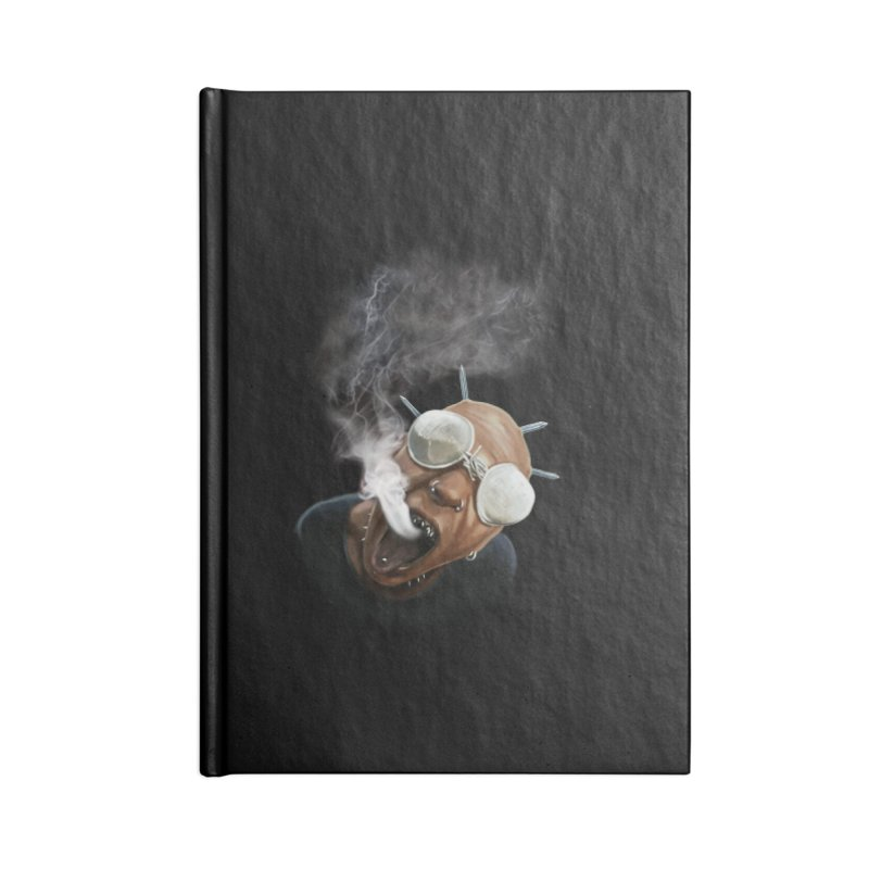 Smoke Accessories Blank Journal Notebook by steveash's Artist Shop