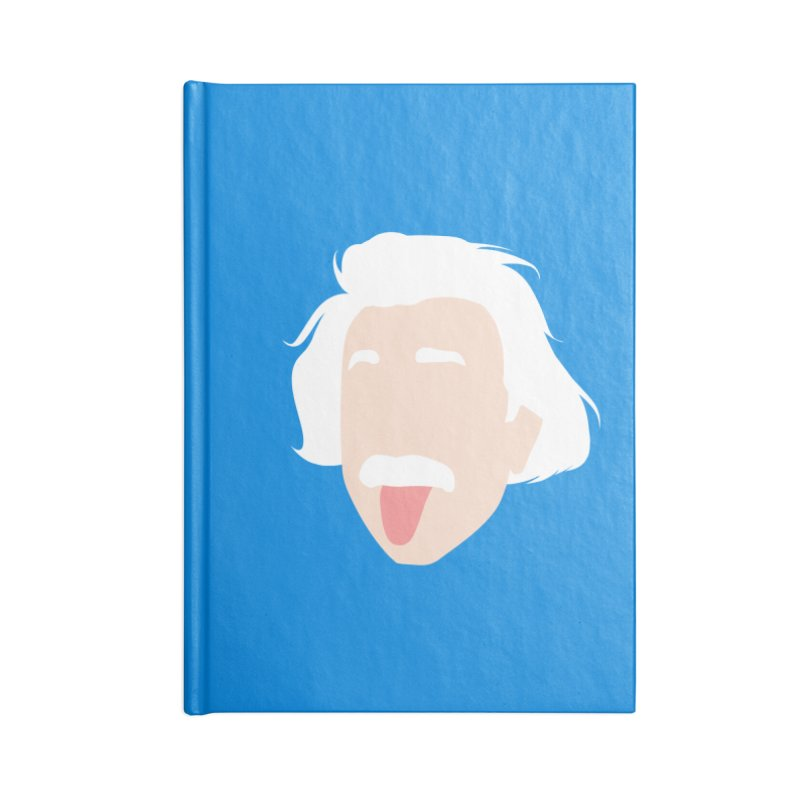 Einstein Accessories Blank Journal Notebook by steveash's Artist Shop