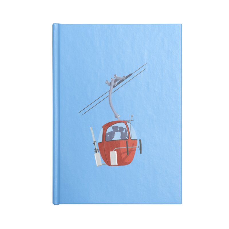 Ski Kiss Accessories Blank Journal Notebook by steveash's Artist Shop