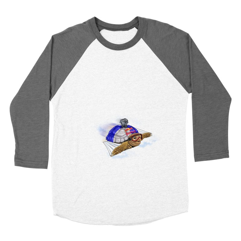 AT LAST I CAN FLY Women's Baseball Triblend Longsleeve T-Shirt by steveash's Artist Shop
