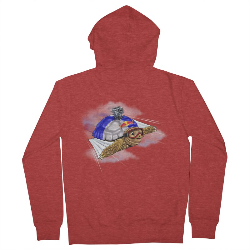 AT LAST I CAN FLY Women's Zip-Up Hoody by steveash's Artist Shop