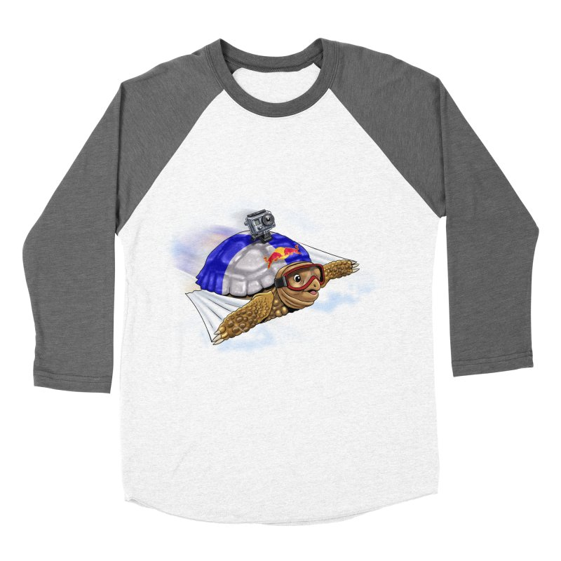 AT LAST I CAN FLY Women's Baseball Triblend T-Shirt by steveash's Artist Shop