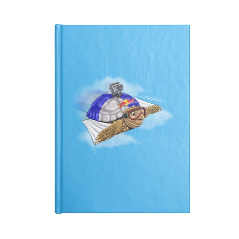 AT LAST I CAN FLY Accessories Blank Journal Notebook by steveash's Artist Shop