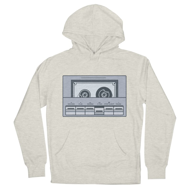 FAST FORWARD Men's French Terry Pullover Hoody by steveash's Artist Shop