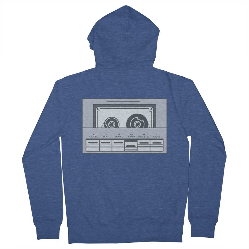 FAST FORWARD Men's French Terry Zip-Up Hoody by steveash's Artist Shop