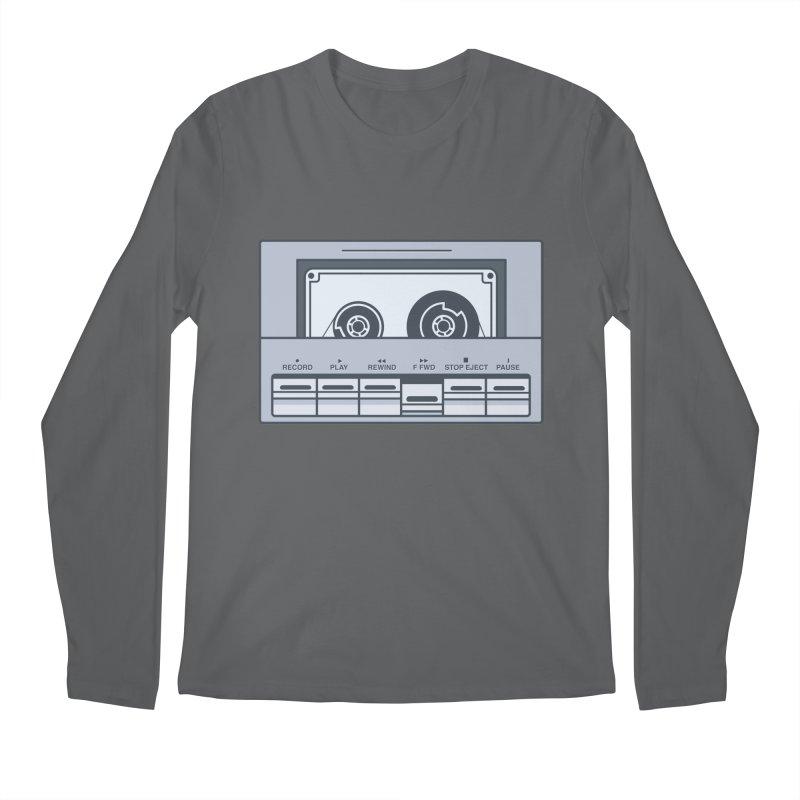 FAST FORWARD Men's Regular Longsleeve T-Shirt by steveash's Artist Shop