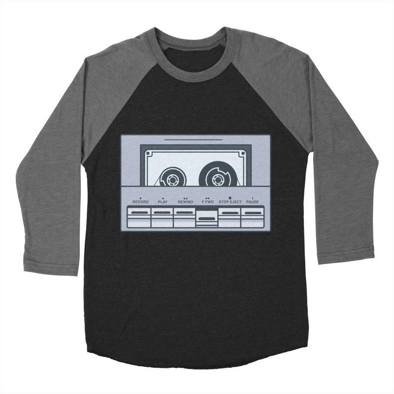 FAST FORWARD Men's Baseball Triblend T-Shirt by steveash's Artist Shop