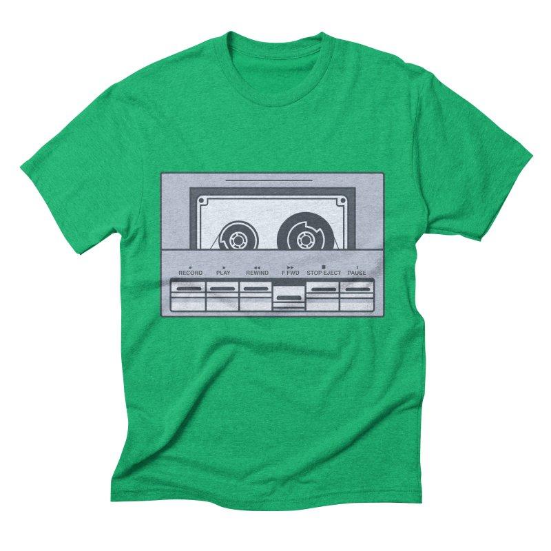 FAST FORWARD Men's Triblend T-shirt by steveash's Artist Shop