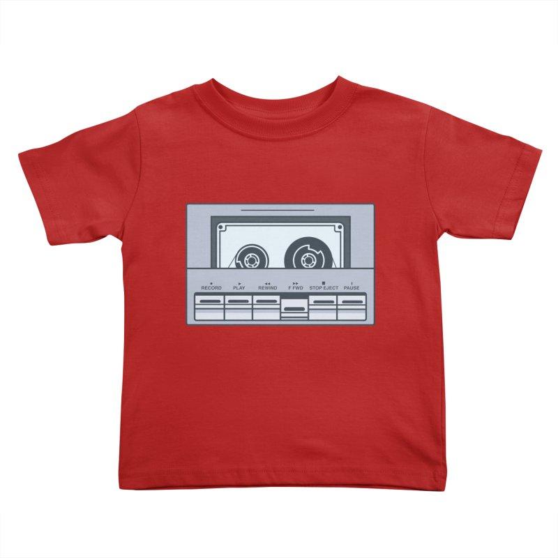 FAST FORWARD Kids Toddler T-Shirt by steveash's Artist Shop