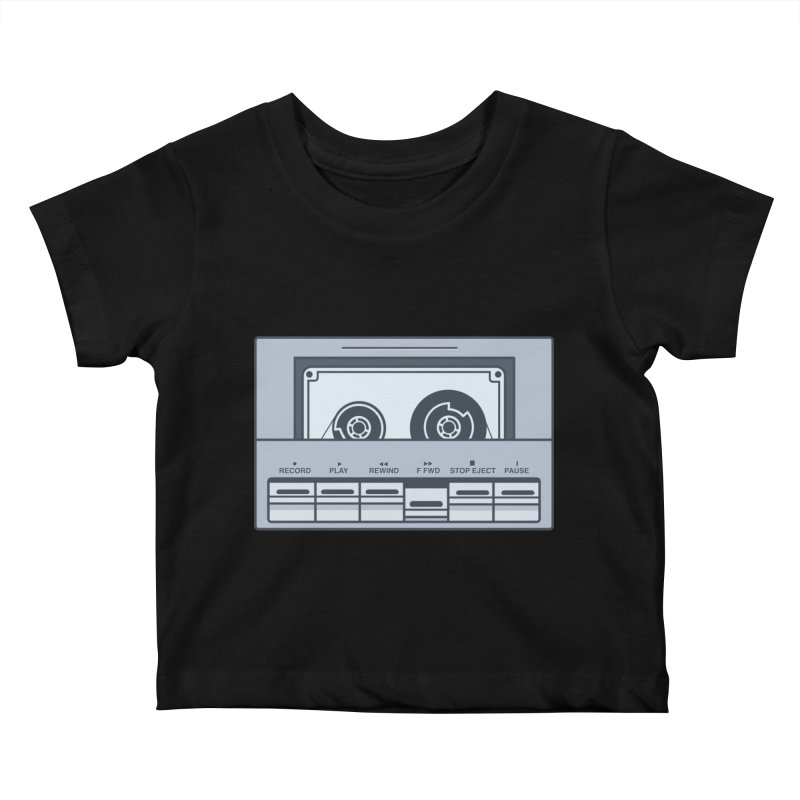 FAST FORWARD Kids Baby T-Shirt by steveash's Artist Shop