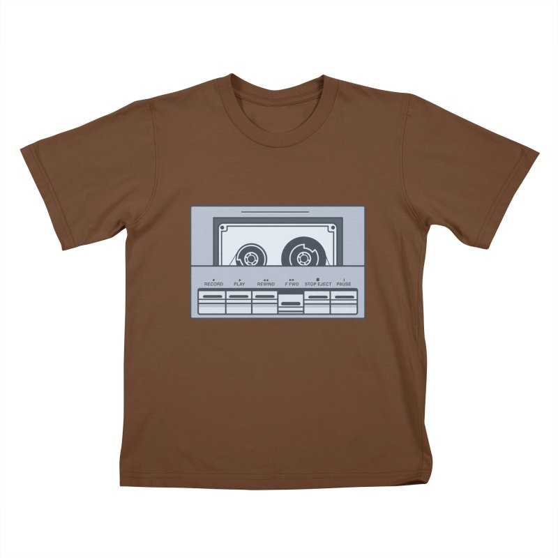 FAST FORWARD Kids T-shirt by steveash's Artist Shop
