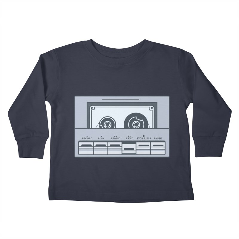 FAST FORWARD Kids Toddler Longsleeve T-Shirt by steveash's Artist Shop