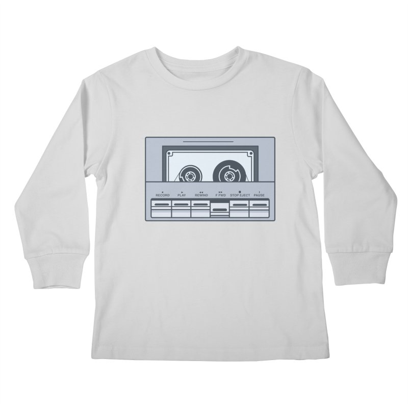 FAST FORWARD Kids Longsleeve T-Shirt by steveash's Artist Shop