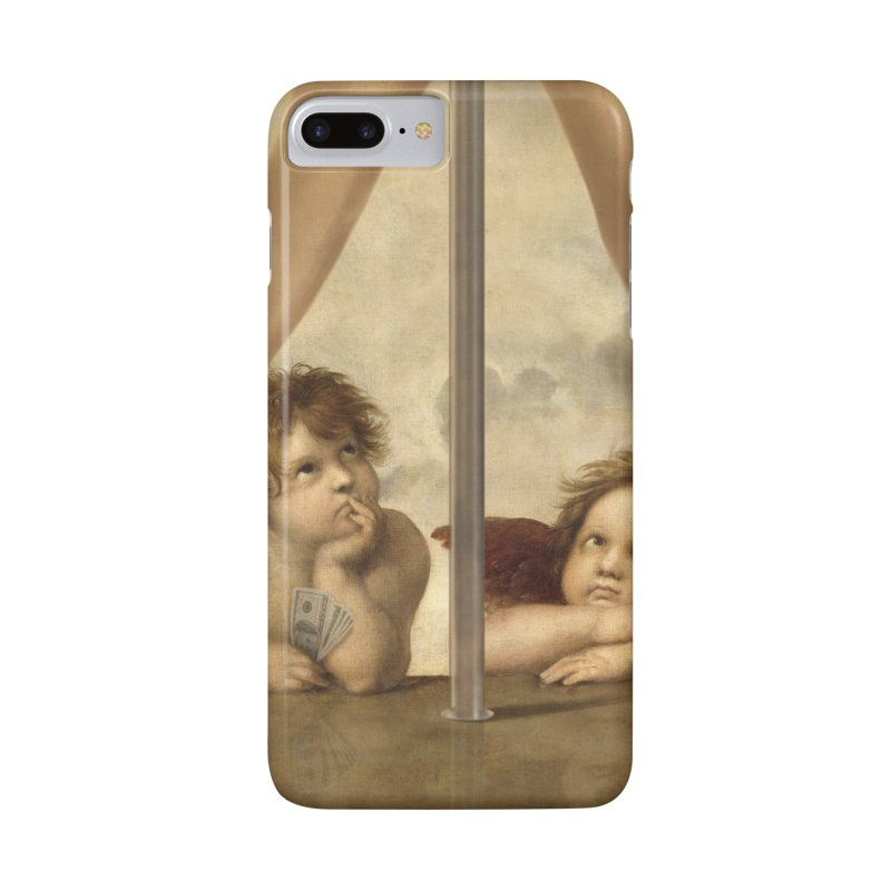Not so Little Angels Accessories Phone Case by steveash's Artist Shop