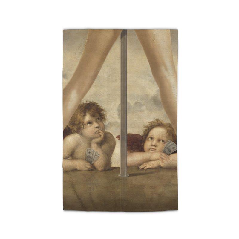 Not so Little Angels Home Rug by steveash's Artist Shop