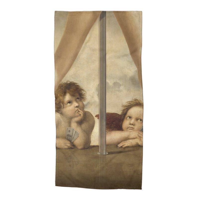 Not so Little Angels Accessories Beach Towel by steveash's Artist Shop