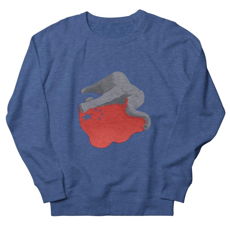 Stop Ivory Trade Men's Sweatshirt by steveash's Artist Shop